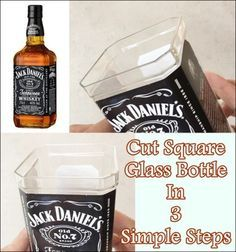 Cut Square Glass Bottle In 3 Simple Steps Homesteading - The Homestead Survival .Com
