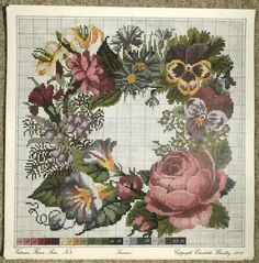 Cross Stitch Rose, Cross Stitch Flowers, Cross Stitch Charts, Cross Stitch Designs, Cross Stitch Patterns, Embroidery Patterns Free, Quilt Patterns, Embroidery Designs, Knitting Patterns