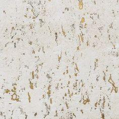 Papier Peint ECLAT Liège Blanc et or ELITIS