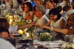 Unconventional Dinner Cena in Bianco Torino 2013 Villa La Tesoriera