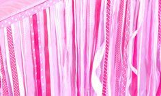 Pinkalicious Garland by atozebracelebrations on Etsy, $49.99