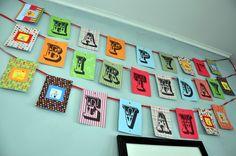 Evan's First Birthday: Decorations