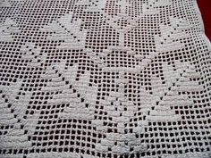 Filet Crochet, Blanket, Blankets, Cover, Comforters