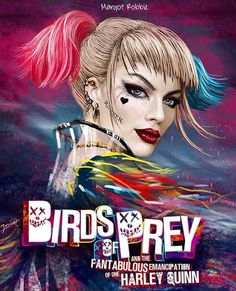 ArtStation - Harley - Birds of Prey film. - ArtStation – Harley – Birds of Prey film, Jasmin Dencic - New Harley, Harley Quinn Cosplay, Joker And Harley Quinn, Arlequina Margot Robbie, Margot Robbie Harley Quinn, Marvel Dc, Dc Comics, Harely Quinn, Full Lace Front Wigs