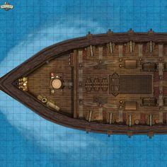 Open The Map, War Machine, Big Ben, Boats, Guns, Deck, Ships, City, Rpg