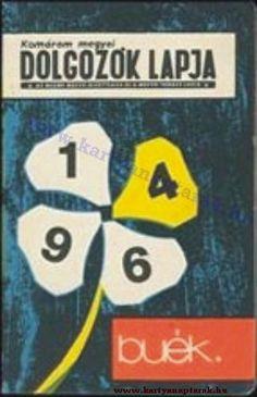 1964 - 1964_0120 - Régi magyar kártyanaptárak