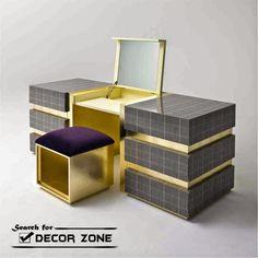 modern contemporary designer armonia italian dressing table