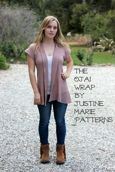 Ojai Wrap Sewing Pattern
