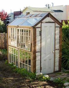 Backyard DIY Greenhouse