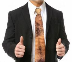 I asked my boss what he would like for Christmas, he said that he could use a new tie... So I got him this one.
