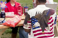 Celebrate the U.S.A. with patriotic apparel from Cracker Barrel Old Country Store.