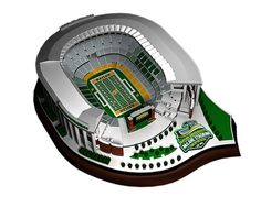 Limited Edition Official 2014 McLane Stadium Replica to commemorate the inaugural year. Only 250 replicas will ever be produced with the McLane Stadium logo and surrounding landscape.