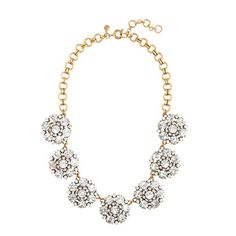 J.Crew - Circular petals necklace