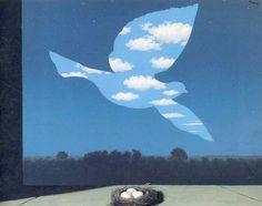 En la década de 1940,  la obra de Magritte adoptó una paleta y una pincelada de nuevo impresionistas, y entre 1947 y 1948 desarrolló sus cuadros  fauvistas.