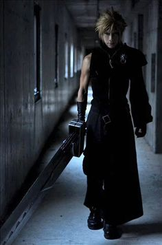 Final Fantasy VII: Advent Children - Cloud Strife by KANAME Submitted by space-paranoids Cloud Cosplay, Cloud Strife Cosplay, Cosplay Anime, Epic Cosplay, Amazing Cosplay, Cosplay Outfits, Cosplay Costumes, Cosplay Boy, Buy Cosplay
