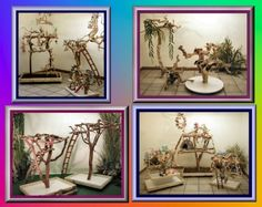 diy wood bird playstand   Specials Parrot Gyms,Trees,Toys,Supplies - Exotic Wood Dreams
