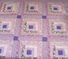 Sentimental Baby: Log Cabin Quilt and 1930s Reproduction ...