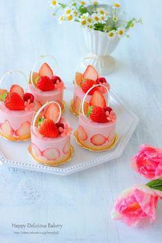 Fancy Desserts, Delicious Desserts, Yummy Food, Fall Dessert Recipes, Dessert Drinks, Mini Cakes, Cupcake Cakes, Kawaii Dessert, Beautiful Desserts