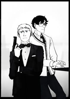 Bondlock AU: John as 007, Sherlock as Q