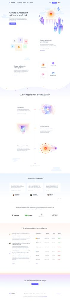 by Báchoo Design Studio Homepage Design, App Ui Design, Blog Design, One Page Website, Website Web, Landing Page Design, Ios, Website Design Inspiration, Web Layout
