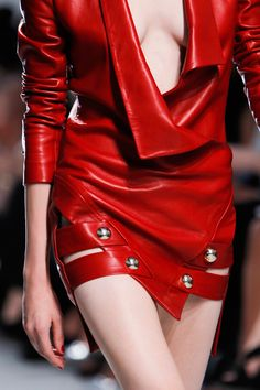 notordinaryfashion:  Anthony Vaccarello S/S 2014