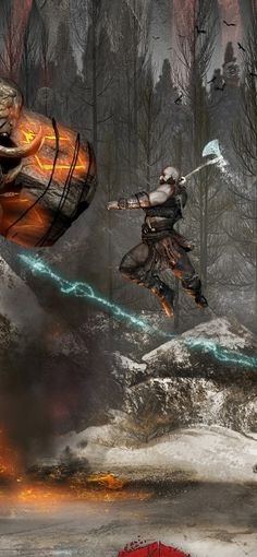 Awesome God Of War 4 Wallpaper Iphone wallpaper God Of War Game, T Wallpaper, Kratos God Of War, Videogames, Gaming Wallpapers, Another World, Call Of Duty, Game Art, Thor