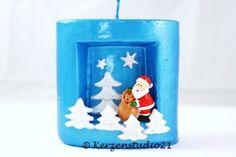 KerzenStudio21.de - Geschenk Kerze Weihnachten Advent Winter Weihnachtskerzen Adventskerzen Winterkerzen