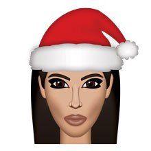 Christmas Comes Early! Kim Kardashian West Releases Emoji