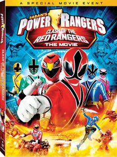 Power Rangers: Clash of the Red Ranger--The Movie. A Working Mother editor fave for her family