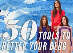50 online tools to better your blog via IFB