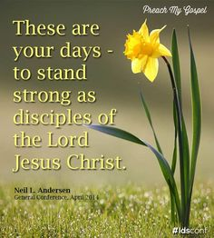 these are your days to stand strong as disciples of the Lord Jesus Christ