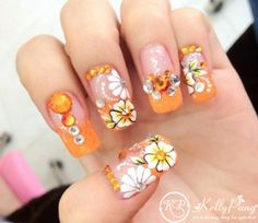 Beautiful-Orange-Floral-Nails-Art-Design-Wonderful-Hollywood-Nails-915x795-Copy1.jpg (600×521)