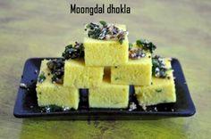 Moong dal Dhokla recipe, step by step sponge moong dal dhokla