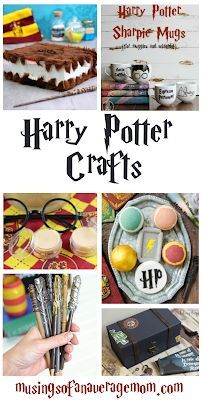 Check out this post of over 20 fun Harry Potter DIYs!