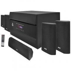 Home Theater System:400-Watt 5.1-Channel PYLE PRO PT628A