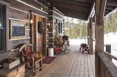 cool porch- Cabin Life Magazine