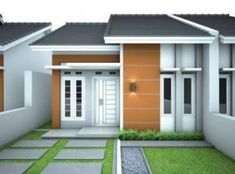 39 ideas exterior bungalow layout for 2019 Cafe Exterior, Restaurant Exterior, Craftsman Exterior, Exterior House Colors, Exterior Doors, Exterior Design, Bungalow Exterior, Exterior Stairs, Door Design