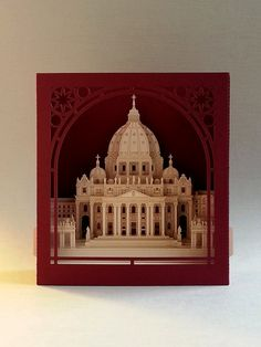 Saint Peter's Basilica. Tunnel Post Card.