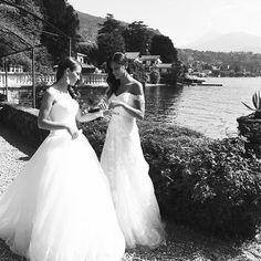 Regram @tosettisposa shooting preview  #comolake #tosetti #sposa #bridal #lakecomo #lenno #lagodicomo #shooting #bride#alessandrotosetti