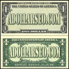 aDollarSEO.com   The Best and Latest $1 Dollar SEO Services