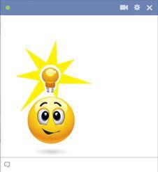 Idea emoticon