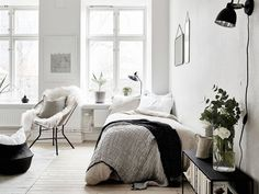 Fantastic one room Scandinavian wonder