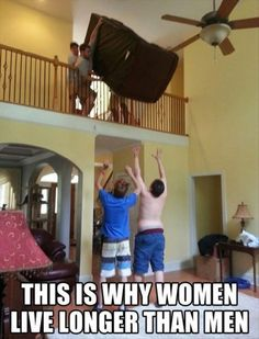 This Is Why Women Live Longer - 32 Pics