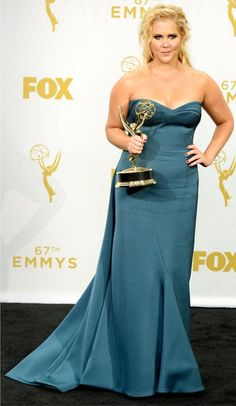 Amy Schumer at the Emmys in September (Photo: Kevork Djansezian/Getty Images)
