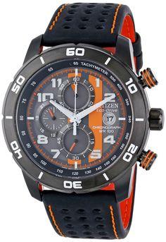 """Citizen Men's Watches : Citizen Men's CA0467-11H Eco-Drive """"Primo"""" Chronograph Sport Watch"""