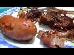Costela com Bacon,Linguiça sem agua na panela de pressao da Déby & Ian :) - YouTube