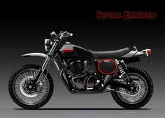 ROYAL ENFIELD 650 ENDURO by obiboi Indian Scout, Motorcycle Design, Royal Enfield, Automotive Design, Concept, Bike, Latest Updates, Product Design, Behance