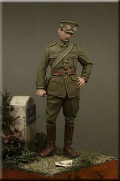 Private, Army Service Corps. 54mm resin figure from Tommy's War. $18