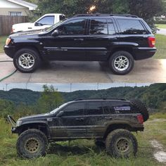 Jeep Zj, Jeep Truck, Jeep Wrangler, Jeep Grand Cherokee Laredo, Lifted Jeep Cherokee, Overland Truck, Jeep Camping, Jeep Mods, Jeep Parts