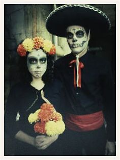 perfect dia de muertos/halloween costumes!